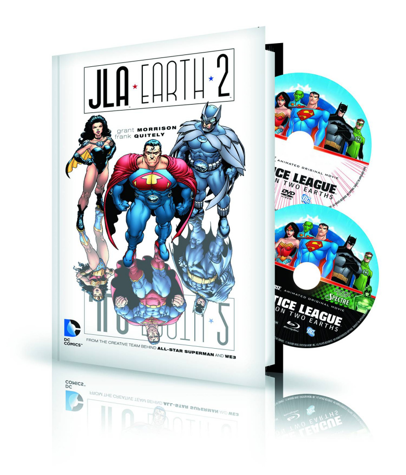 JLA: Earth 2 Book & DVD/BluRay Set