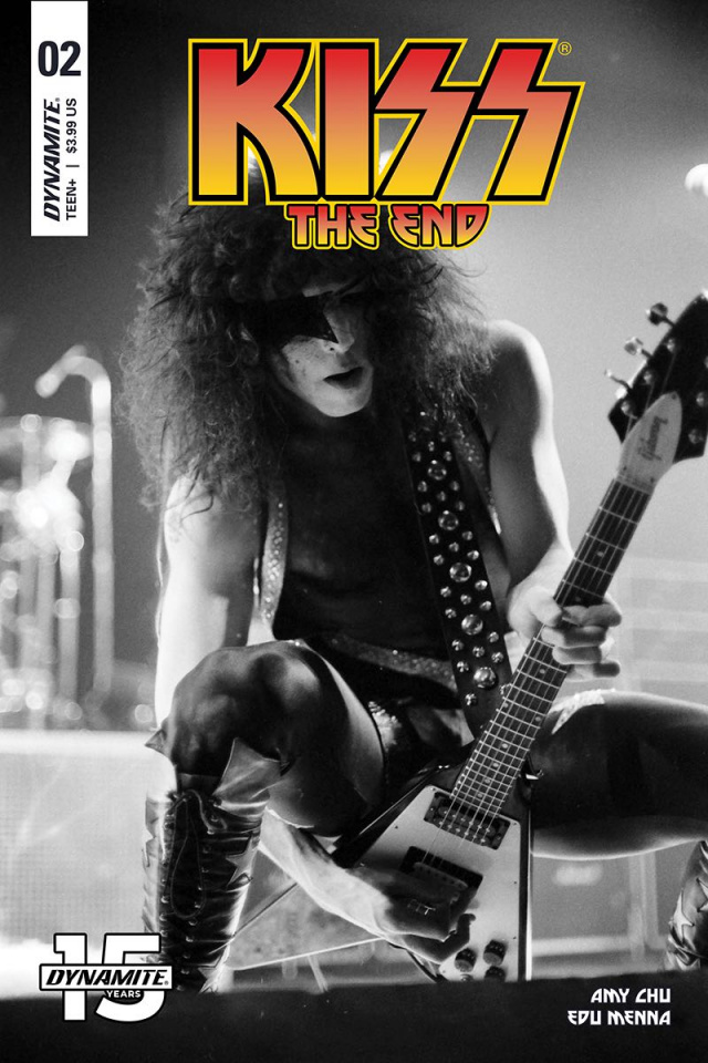 KISS: The End #2 (Photo Cover)