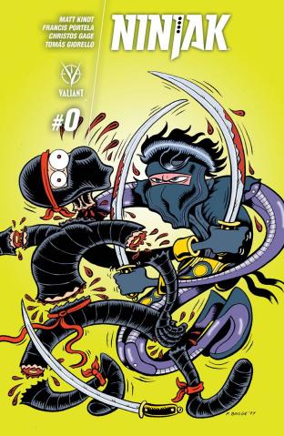 Ninjak #0 (10 Copy Bagge Cover)