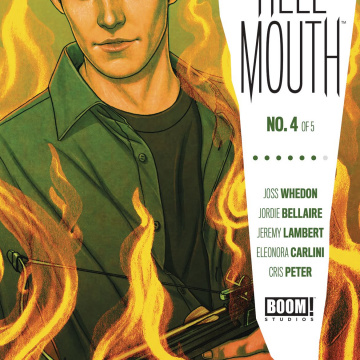 Buffy the Vampire Slayer / Angel: Hellmouth #4 (Frison Cover)
