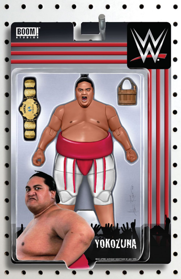 WWE #22 (Riches Action Figure Cover)