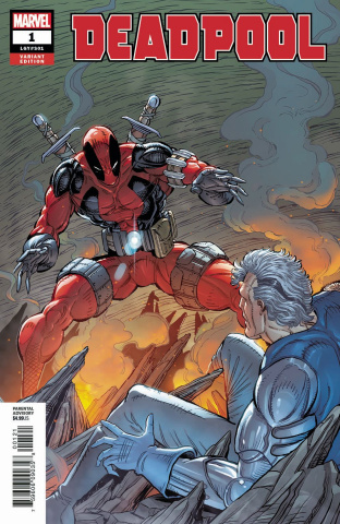 Deadpool #1 (Liefeld Remastered Cover)