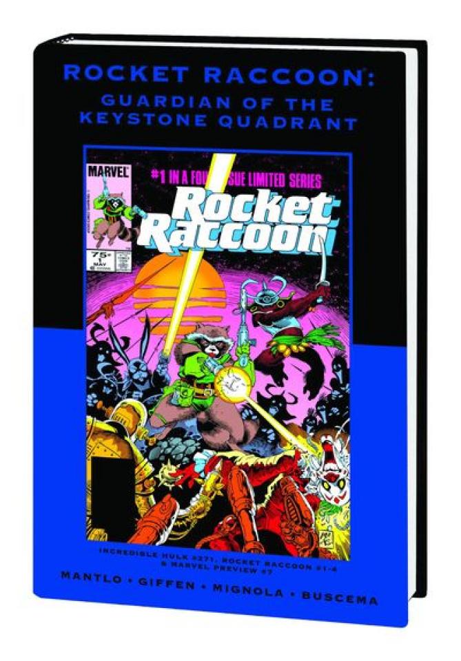 Rocket Raccoon: Guardian of the Keystone Quadrant