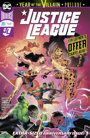 Justice League #25: Year of the Villian