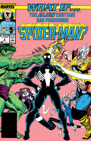 What If the Alien Costume Possessed Spider-Man? #1 (True Believers)