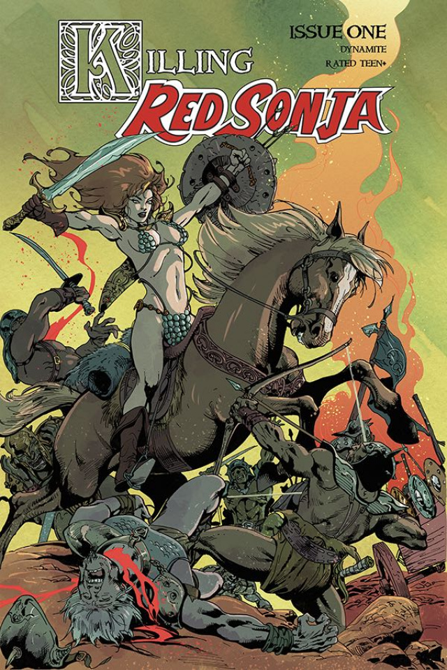 Killing Red Sonja #1 (Castro Bonus Cover)