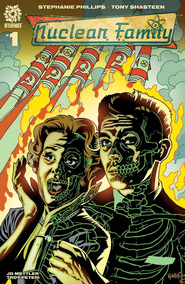 Nuclear Family #1 (15 Copy Tony Harris Cover)