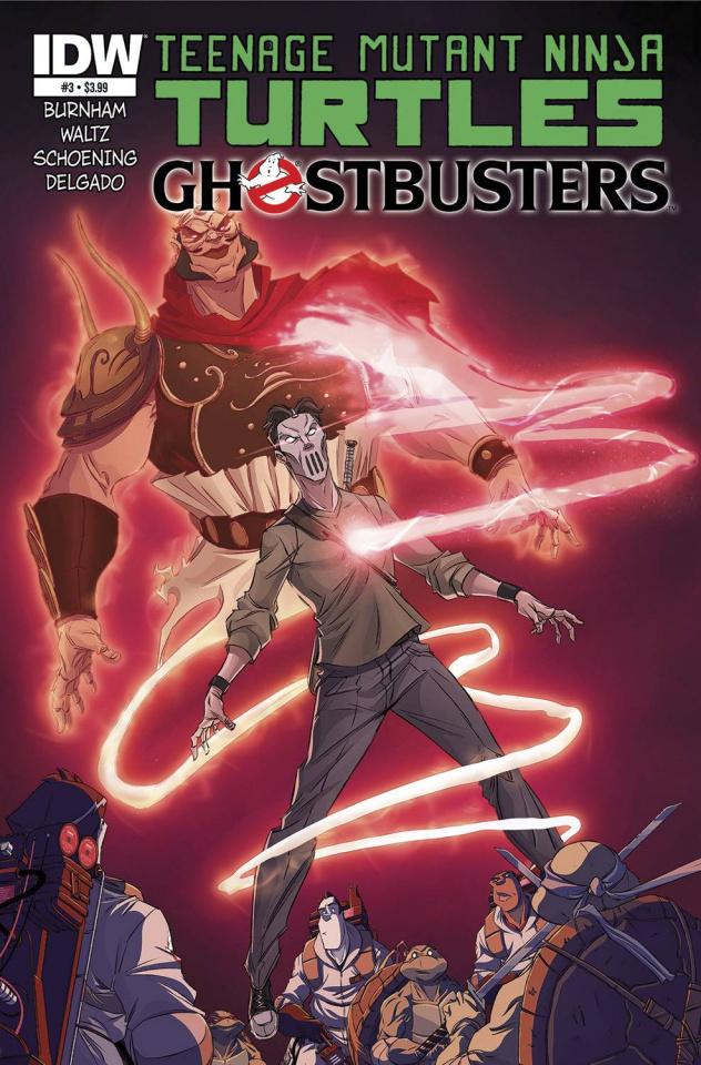 Teenage Mutant Ninja Turtles / Ghostbusters #3