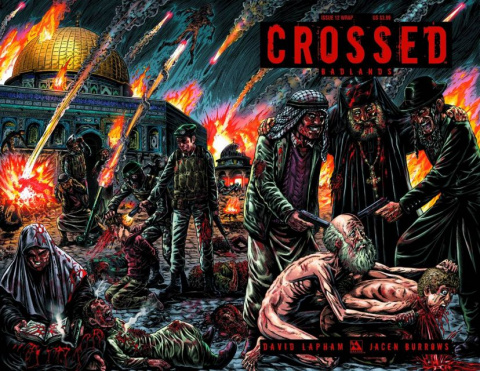 Crossed: Badlands #12 (Wrap Cover)
