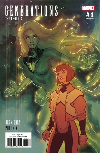 Generations: Phoenix & Jean Grey #1 (Roux Cover)
