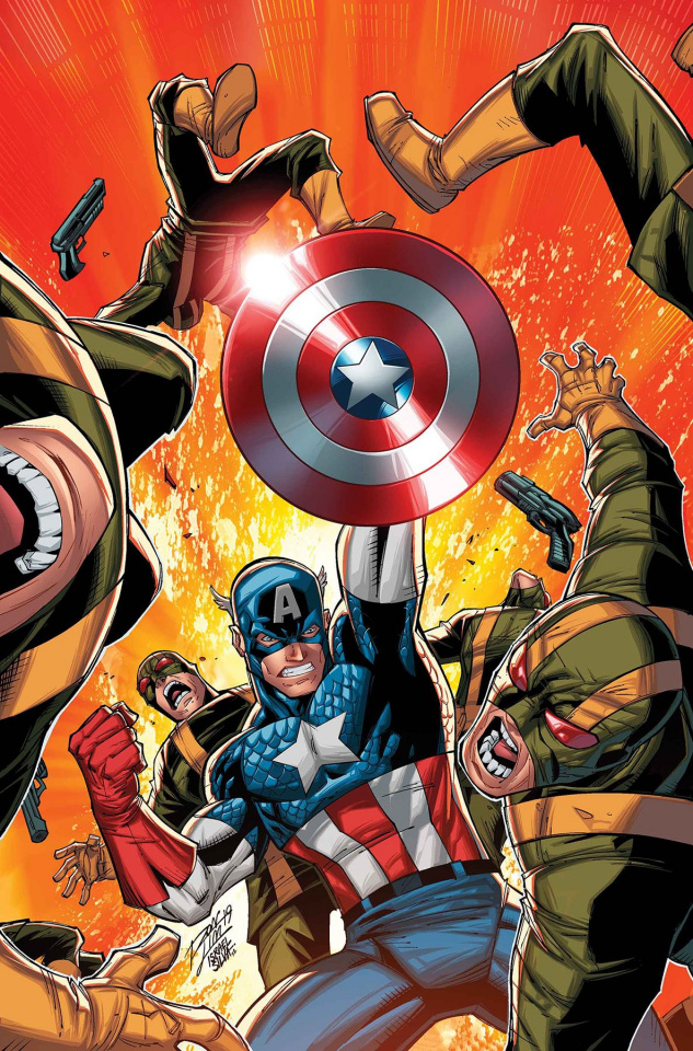 Captain America and The Invaders: Bahama's Triangle #1 (Lim Cover)