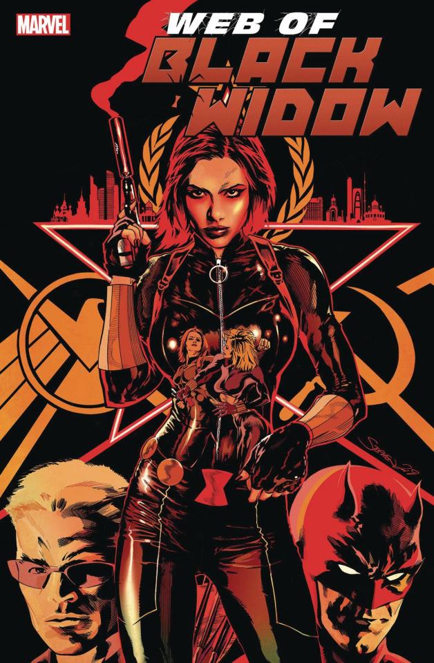 Web of Black Widow #3 (Mooney Cover)