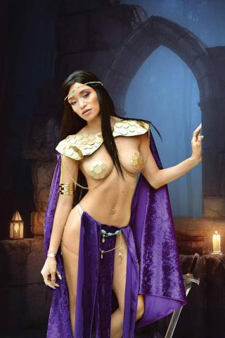 Dejah Thoris #9 (30 Copy Mai S Cosplay Virgin Cover)