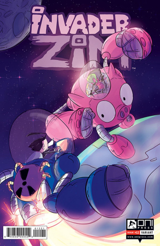 Invader Zim #12 (Doucet Cover)