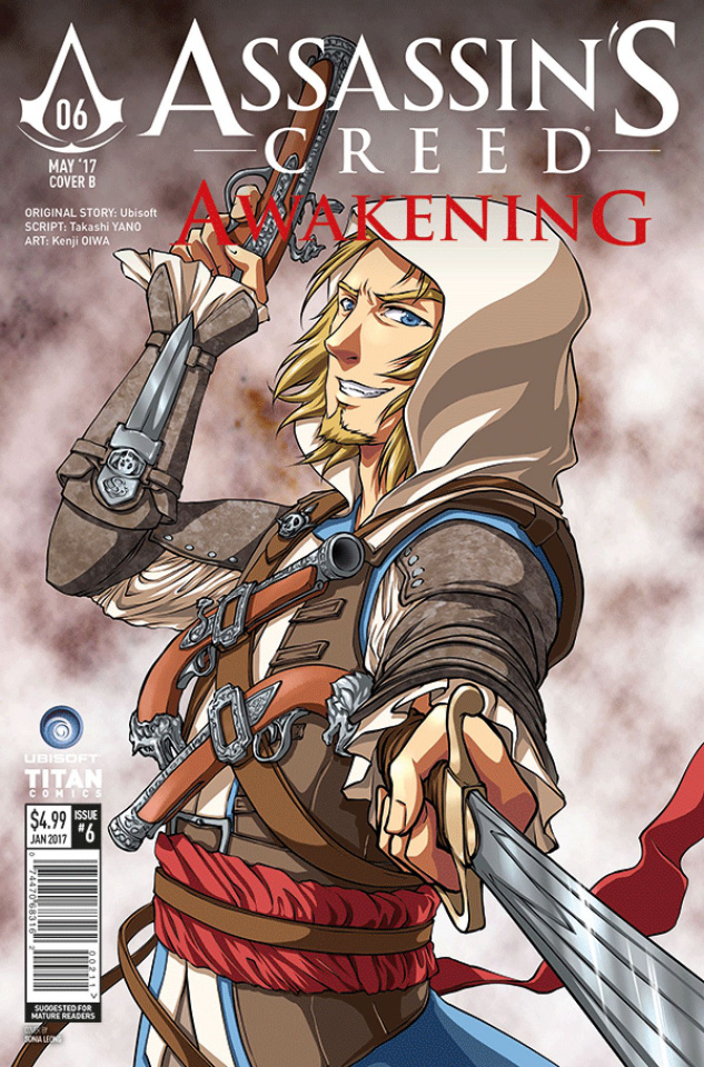 Assassin's Creed: Awakening #6 (Leong Cover)