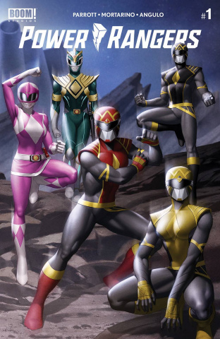 Power Rangers #1 (Yoon Cover)
