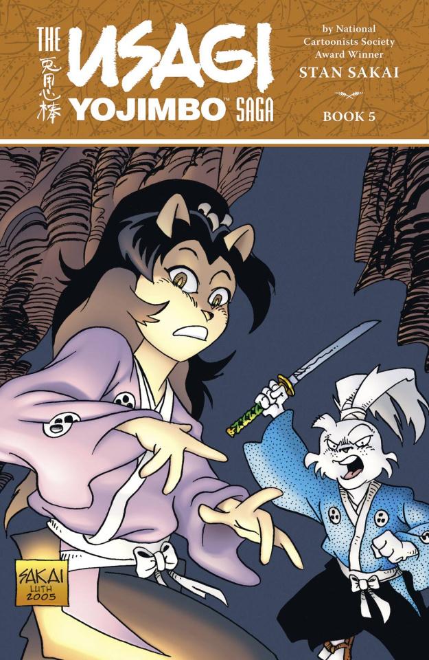 The Usagi Yojimbo Saga Vol. 5