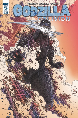 Godzilla: Oblivion #5 (Subscription Cover)