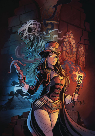 Grimm Fairy Tales: Van Helsing vs. The Mummy of Amun Ra #3 (Abel Cover)