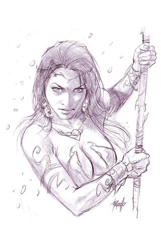 Dejah Thoris #1 (25 Copy Parrillo Virgin Tint Cover)