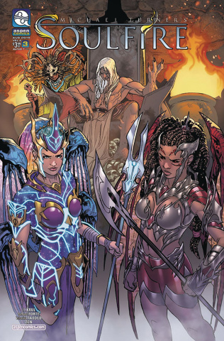 Soulfire #3 (Forte Cover)