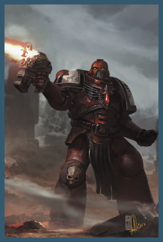 Warhammer 40,000: Dawn of War III #4 (Sondered Cover)