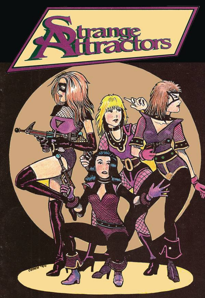 Strange Attractors #5 (Retro Variant Cover)