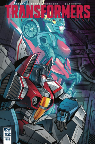 The Transformers: Till All Are One #12 (Tramontano Cover)