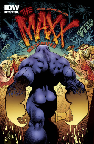 The Maxx: Maxximized #4 (Subscription Cover)