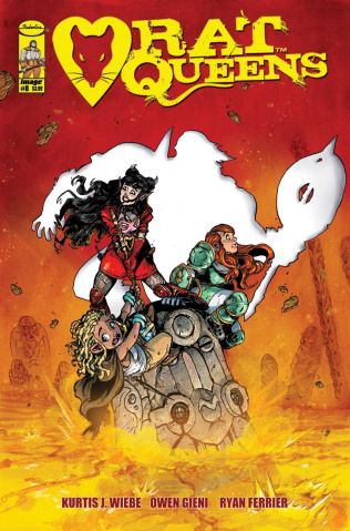 Rat Queens #8 (Gieni Cover)