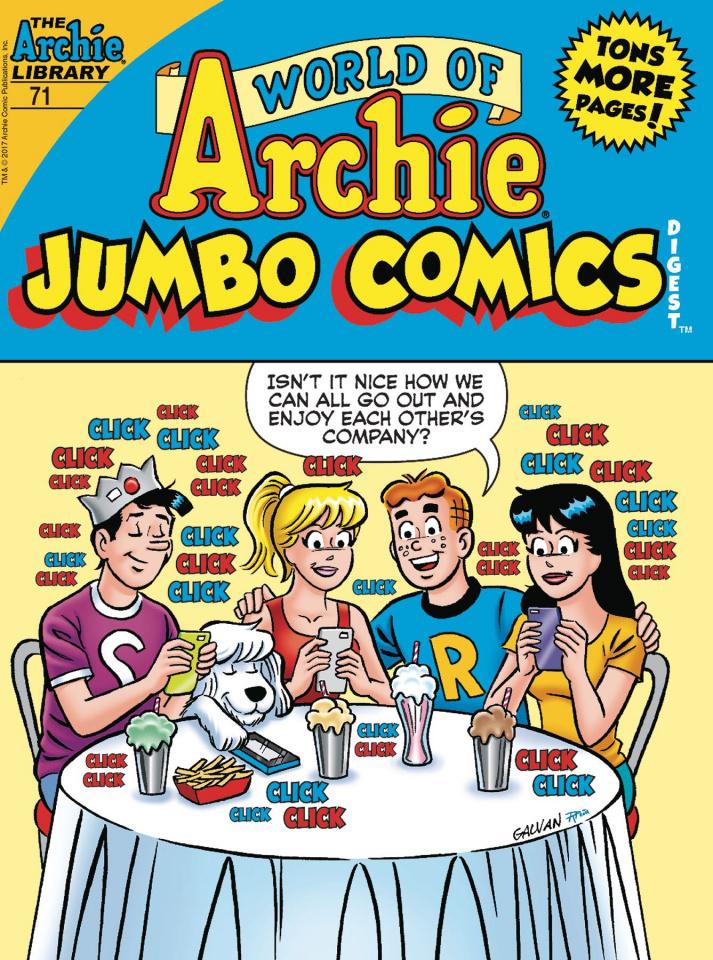 World of Archie Jumbo Comic Digest #71