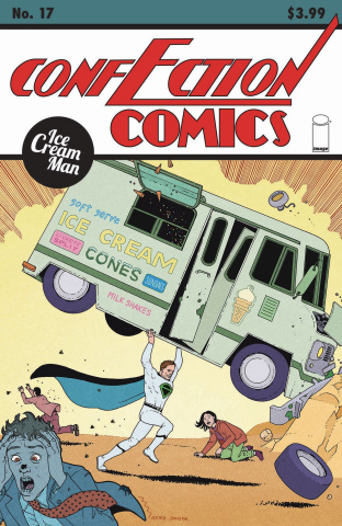 Ice Cream Man #17 (Morazzo & O'Halloran Cover)