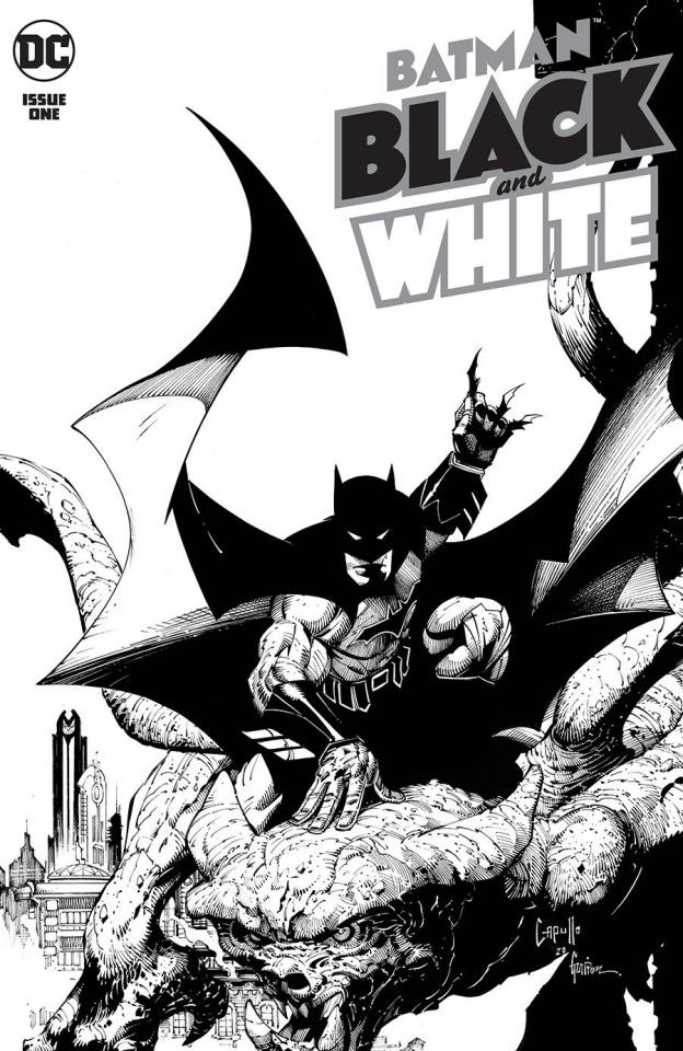 Batman: Black & White #1 (Greg Capullo Cover)