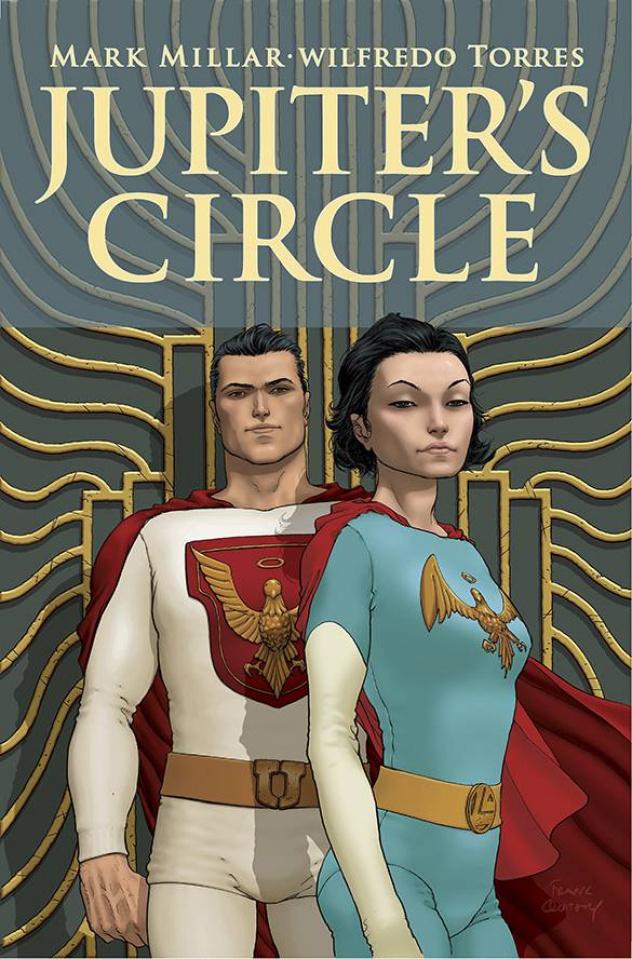 Jupiter's Circle #1 (Quitely Cover)