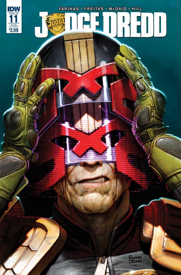 Judge Dredd #11 (Subscription Cover)