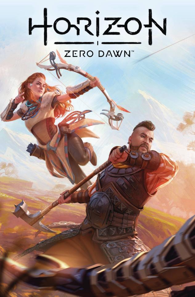 Horizon: Zero Dawn - Liberation #1 (Wilkins Cover)