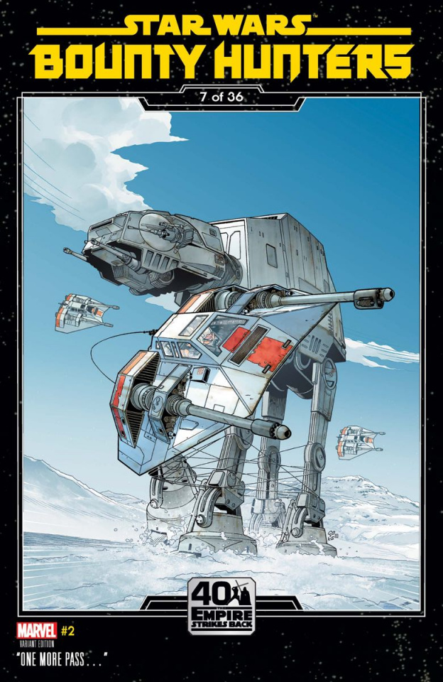 Star Wars: Bounty Hunters #2 (Sprouse Empire Strikes Back Cover)