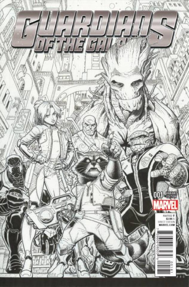 Guardians of the Galaxy #1 (Art Adams Sketch Cover)