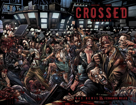 Crossed: Badlands #87 (Wraparound Cover)