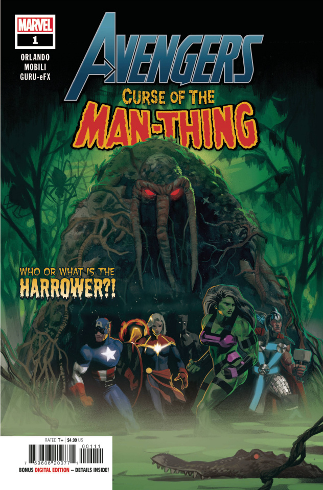 Avengers: Curse of the Man-Thing #1