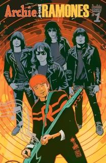 Archie Meets the Ramones (Francavilla Cover)