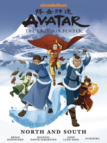 Avatar: The Last Airbender North and South (Library Edition)