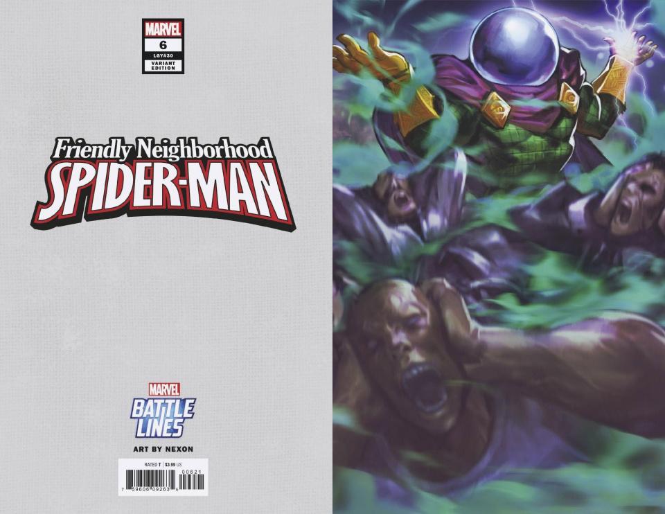 Friendly Neighborhood Spider-Man #6 (Nexon Marvel Battle Line Cover)