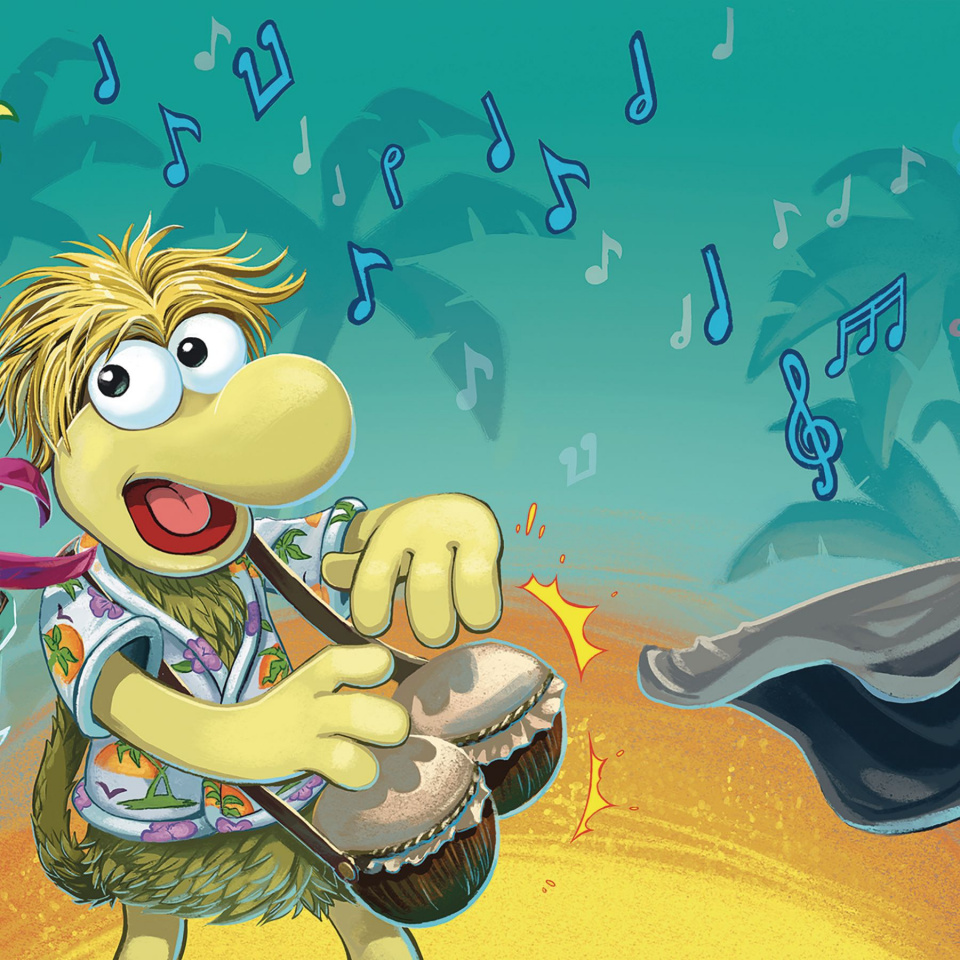 Fraggle Rock #2 (Subscription Myler Connecting Cover)