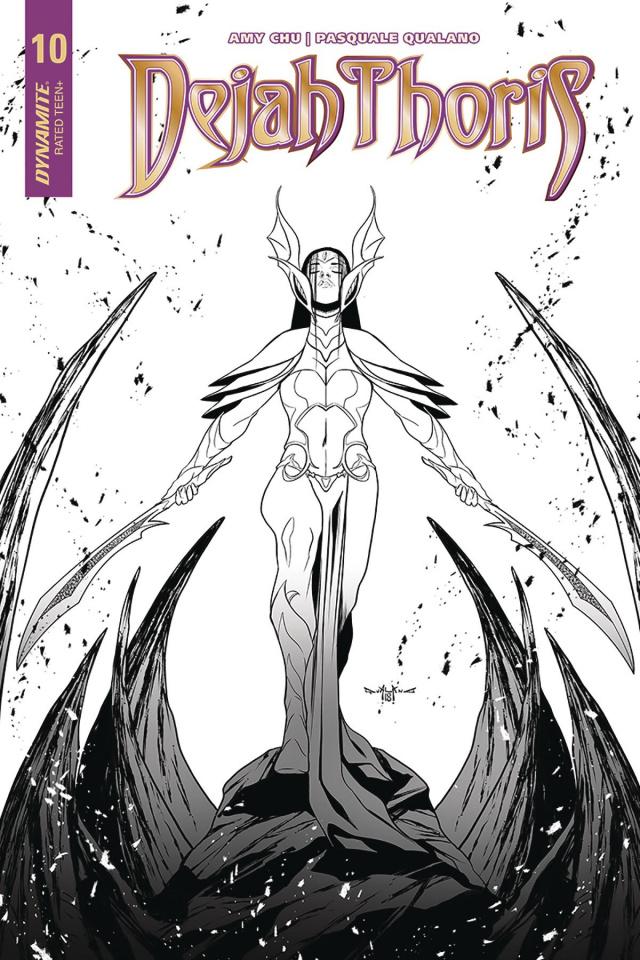Dejah Thoris #10 (30 Copy Qualano B&W Cover)