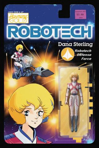 Robotech: Remix #1 (Action Figure Cover)