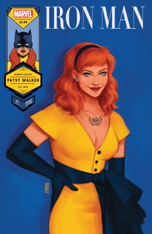 Iron Man #7 (Bartel Hellcat Womens History Month Cover)