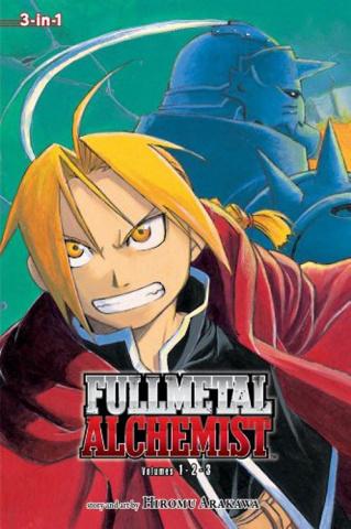 Fullmetal Alchemist Vol. 1 (3-in-1 Edition)