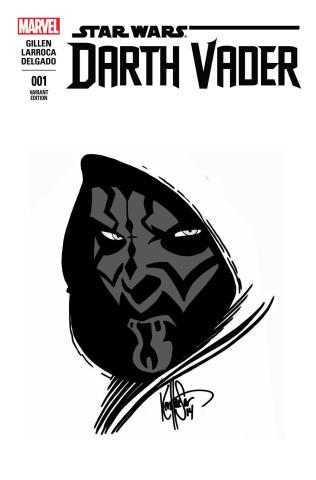 Darth Vader #1 (Remark Haeser Maul Sketch Cover)