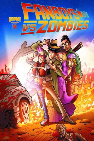 Fanboys vs. Zombies #9